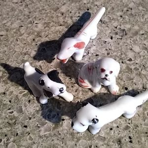 Accents - Miniature Vintage Mid-century Dogs Lot of …